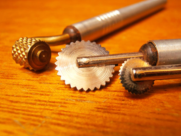 herramientas para repujado aluminio