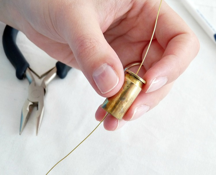 Bullet jewellery tutorial
