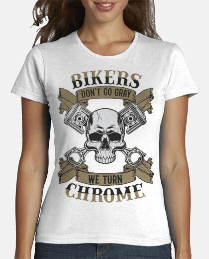 Camisetas Mujer - BIKERS CHROME