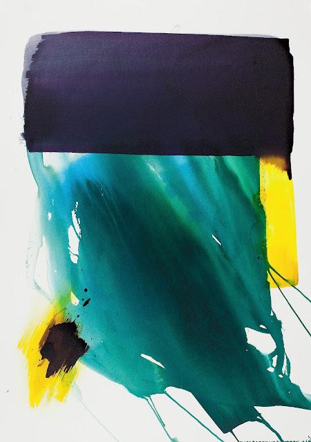 Encre sur papier jean baptiste besançon artiste peintre