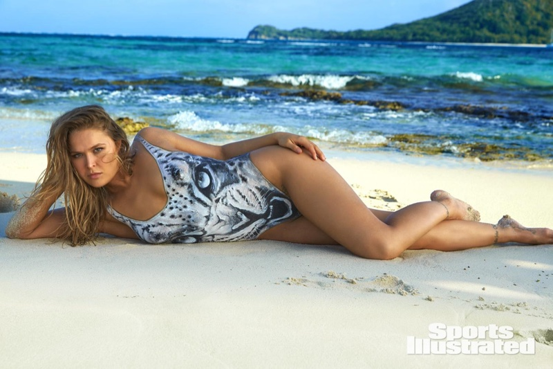 Ronda Rousey for Sports Illustrated Swimsuit Issue 2016