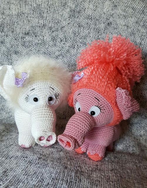 -amigurumi -animal -loomad -sõbrad -friends -crochet - heegeldamine -girl -tüdruk -plika -handmade -käsitöö -softtoy - pehmemänguasi -pehme -soft -mänguasi -mammut -mammoth