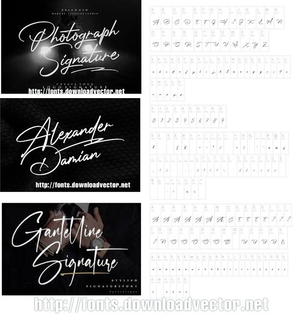 Download fonts photograph