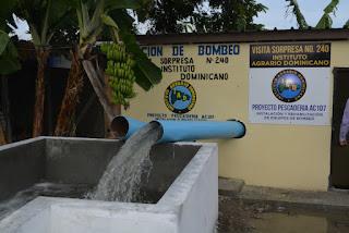 Gobierno pone en funcionamiento 7 electrobombas en el Peñón, Barahona