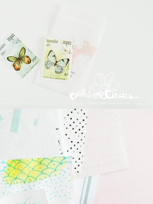 inspiration  - creativity - collages - bohème circus - carnet - visual journal