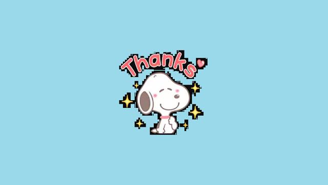 Stiker WA For Snoopy