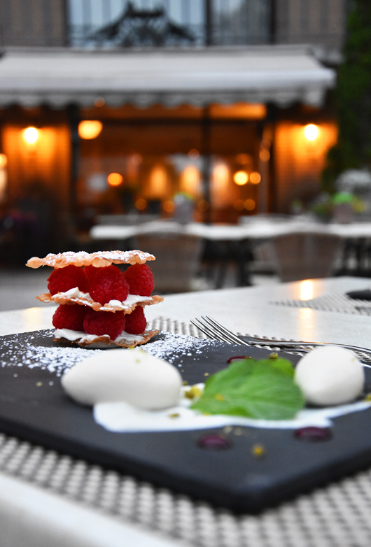 Dessertvariationen im Van der Valk Hotel Berlin