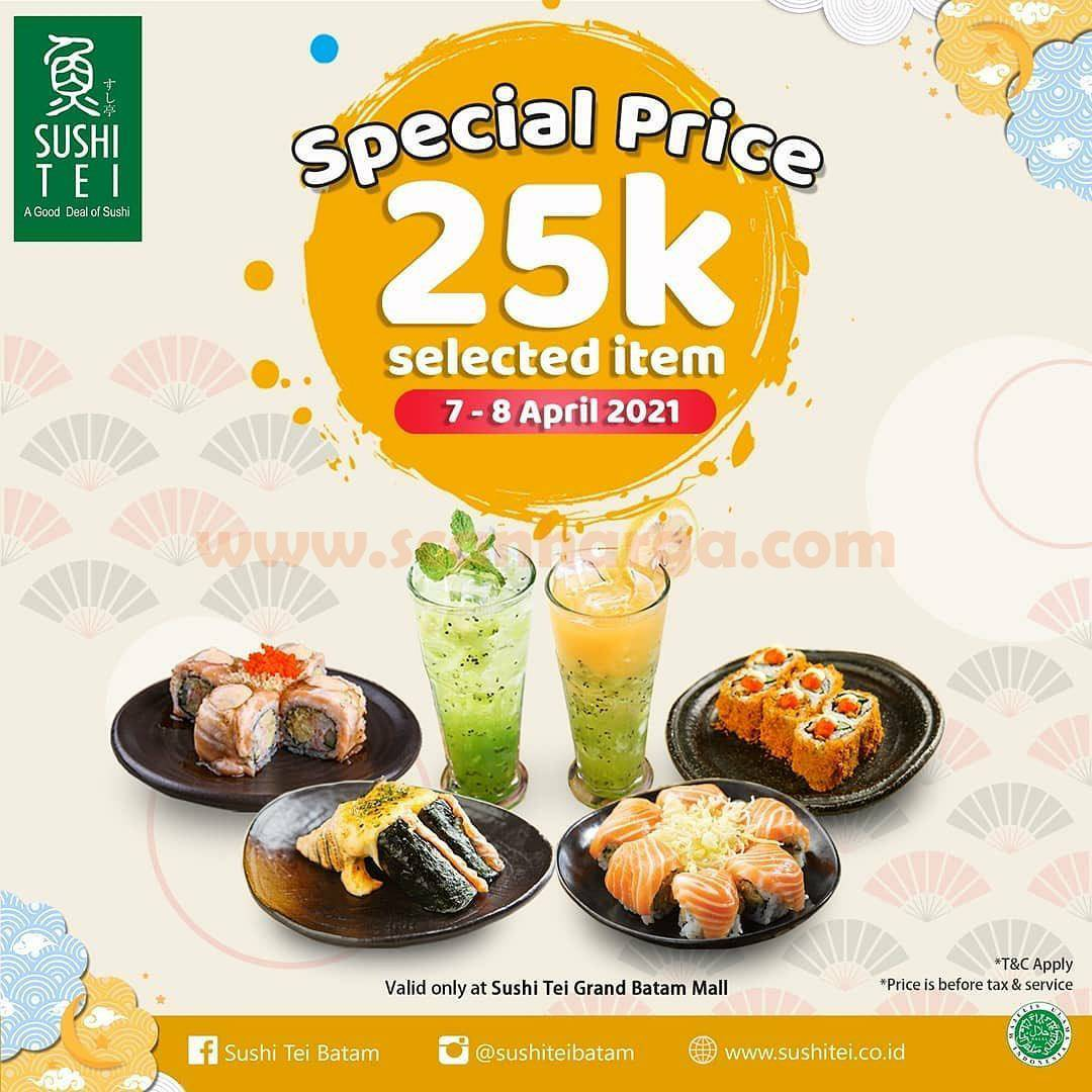 Sushie Tei Promo Special Price 25K Selected Item