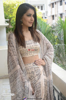 Rashi Khanna in a Tebe Top Sizzling Beauty at Tholi Prema Movie Interview ~  Exclusive 003.jpg