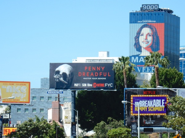 Penny Dreadful season 3 billboard Sunset Strip