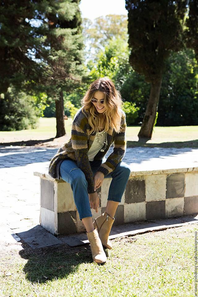 Sacos tejidos invierno 2016 ropa de mujer. Milana Sweaters invierno 2016. Moda 2016.