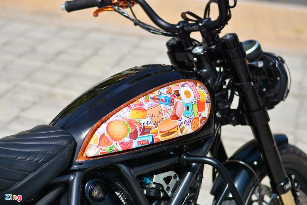 Ducati Scrambler lột xác với gói độ 200 triệu của dân chơi Hà Nội