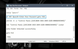 gadgets and widgets. password protect a folder 03