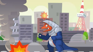 Game siêu nhân khủng long đánh quái vật hay