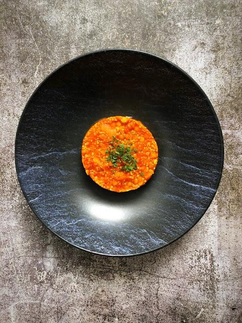 Duo de lentilles corail et quinoa à la tomate et au paprika fumé - IG bas - Adopte la cuisine IG bas