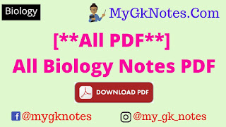 All Biology Notes PDF Download