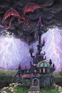 Dragon Castle by Traci Van Wagoner