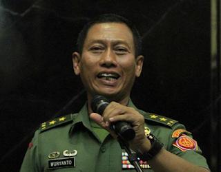 Mayor Jenderal TNI Wuryanto, S.Sos, M.Si