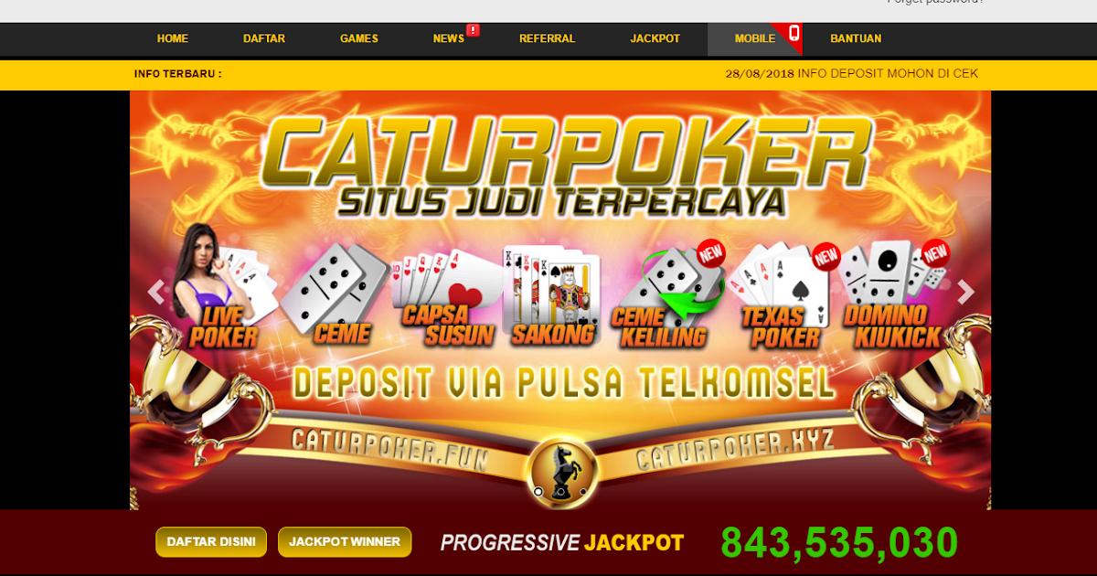 Situs Catur Poker Deposit Pulsa