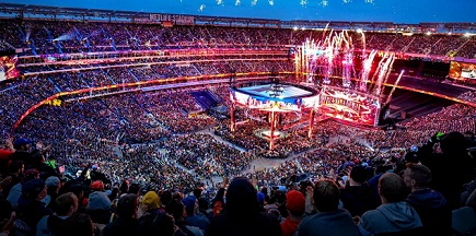 Top 10 All-Time Highest Attendance Records at 2019 WrestleMania 35 till now.