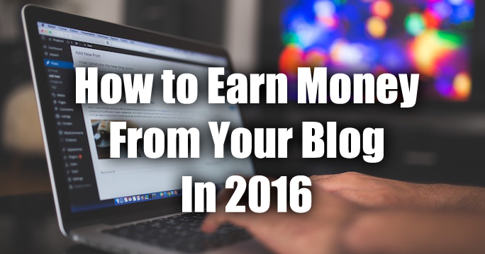 earn money from blog