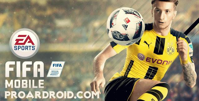 لعبة كرة القدم فيفا FIFA 18 Mobile Soccer v12.0.01 كاملة للاندرويد مجانا logo