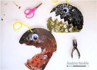 paper plate angler fish