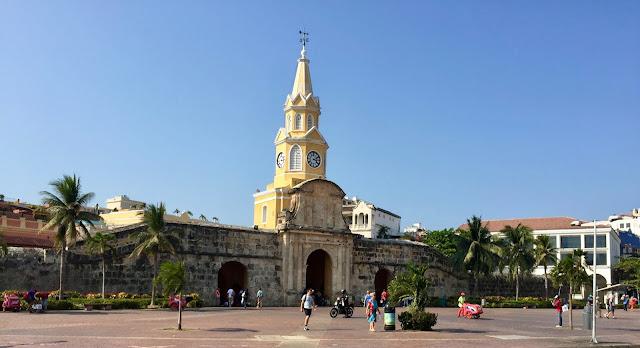 Cartagena Clock Tower Monument