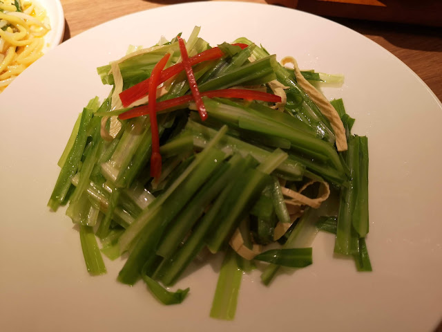 Stir Fried Dragon Chives with Yunnan Beancurd Skin