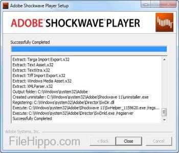 Shockwave Player Screenshot 1
