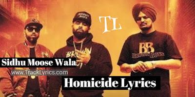 homicide-lyrics