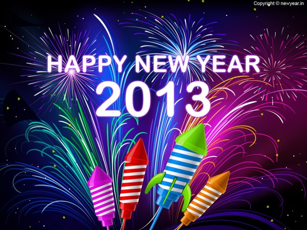 New Year Greeting Card PSD  Download