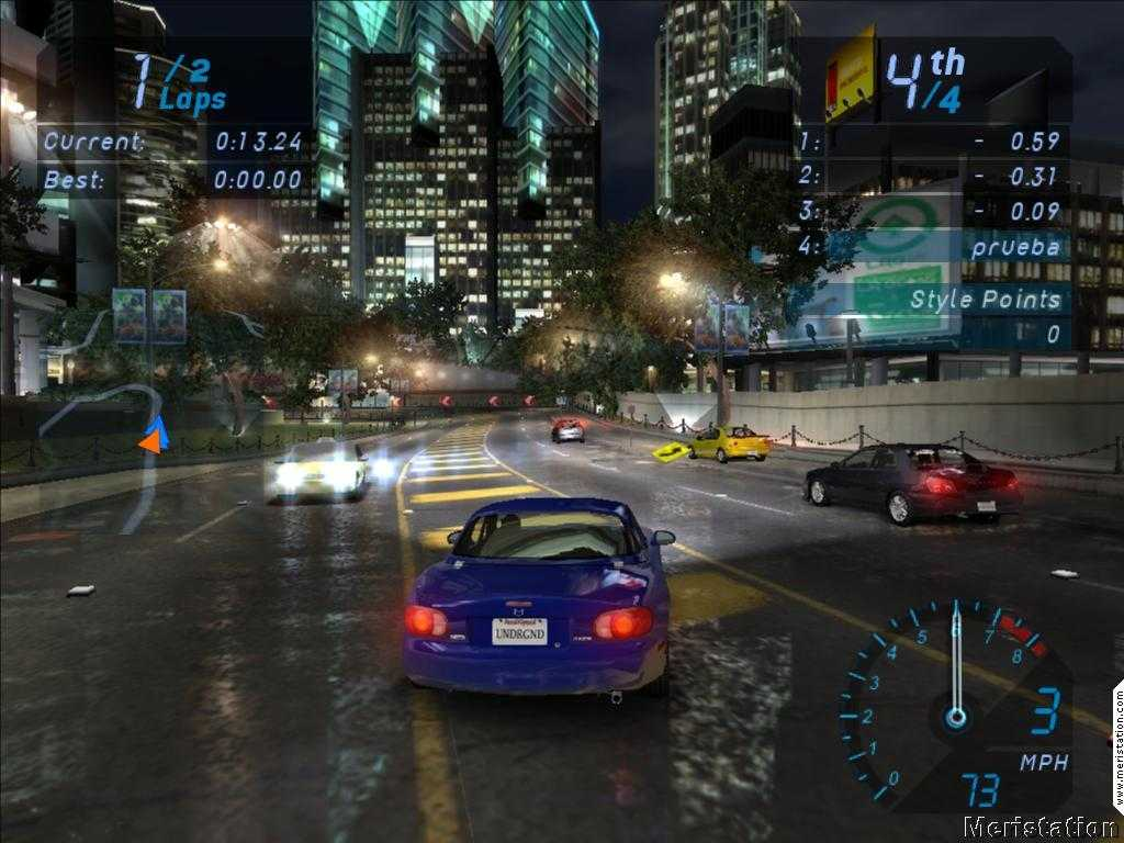 Need for Speed Underground Highly Compressed PC Game