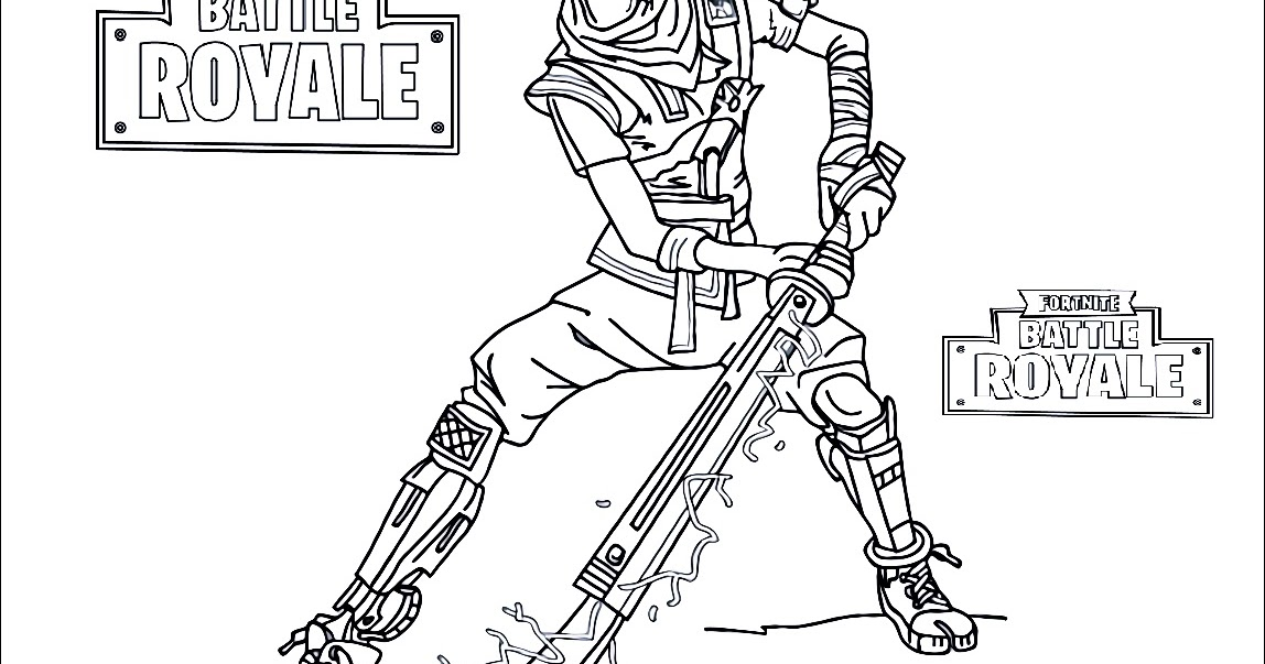 Fortnite Ice King Skin Coloring Pages | Can I Get V Bucks ...
