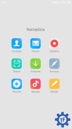 MIUI 11 Ikony aplikacji systemowych