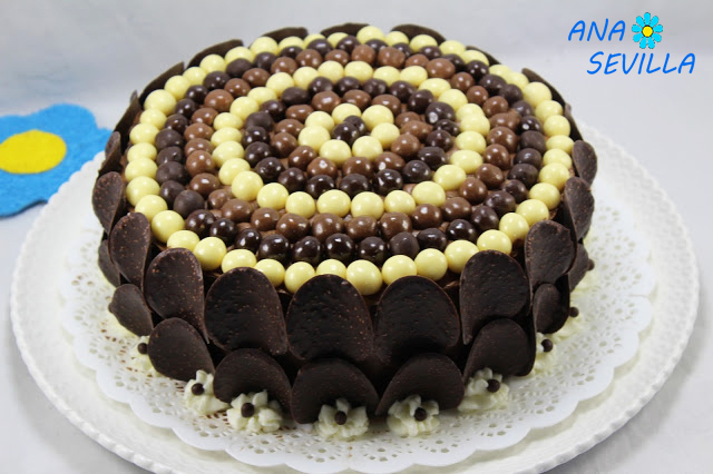 Tarta buttercream de chocolate Thermomix Ana Sevilla