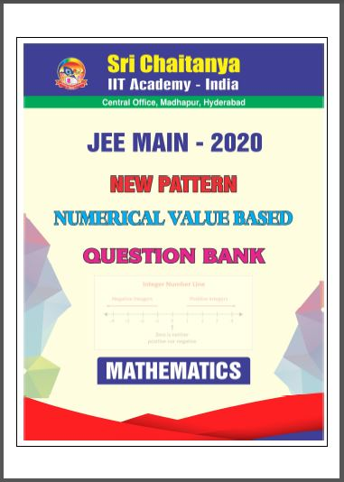 JEE Main-2020 New Pattern Mathematics Question Bank : for JEE Exam PDF Book