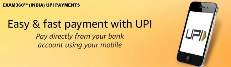 EXAM360 UPI PAYMENTS