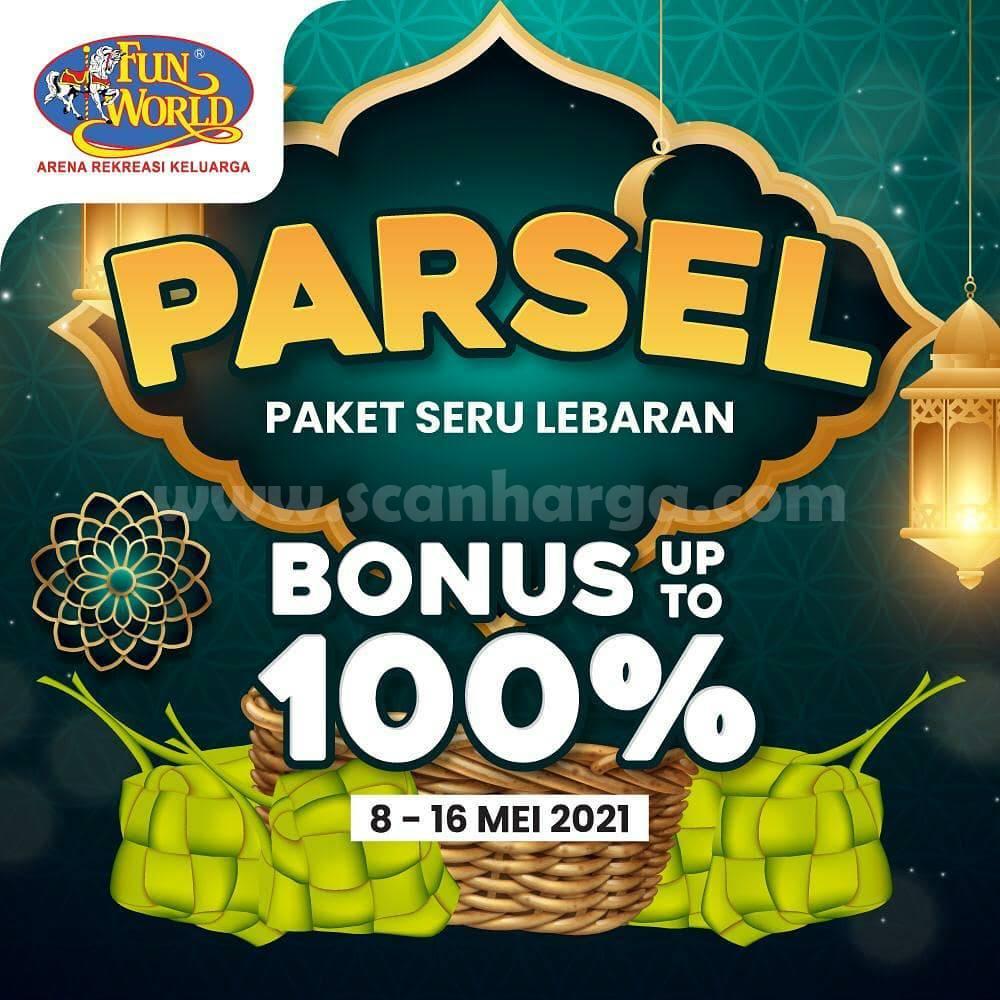 Promo Funworld PARSEL Paket Seru Lebaran - Bonus up to 100%