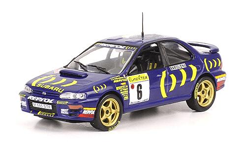 collezione rally monte carlo Subaru Impreza 555 1995 Piero Liatti - Alessandro Alessandrini