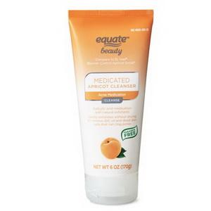 Sữa rửa mặt tẩy tế bào chết Equate Beauty Blemish Control Apricot Scrub của Mỹ