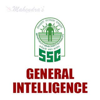 SSC Quiz : General Intelligence | 15 -11 -17