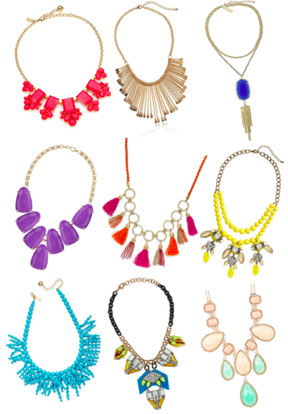Summer Obsession: Statement Necklaces | Glamour State Of Mind