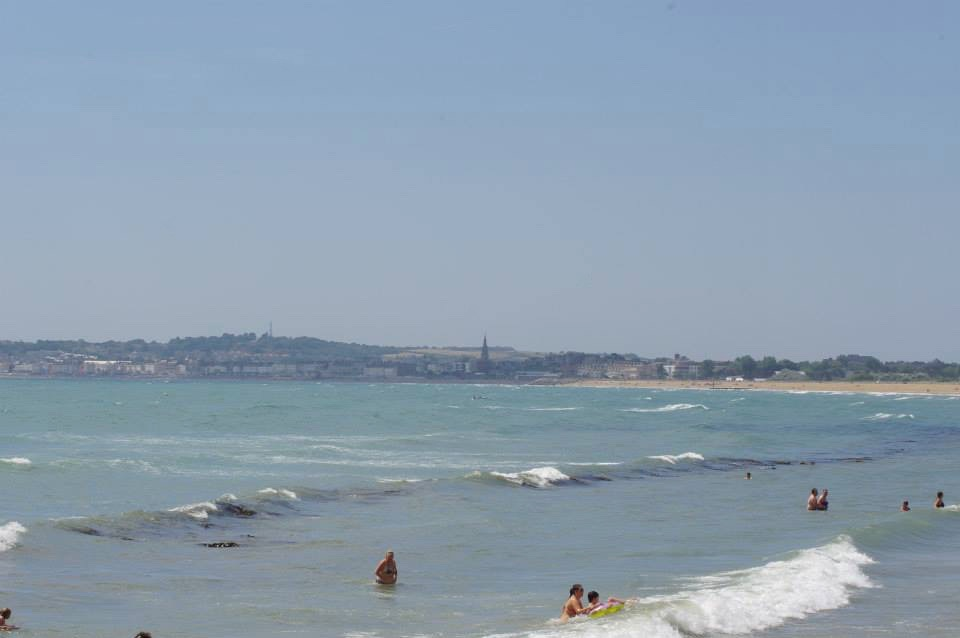 Weymouth beach \ Dorset \ coastline