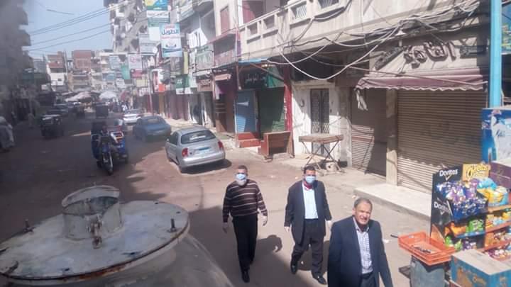جهود الوحدة المحلية لمركز أبو حمص في أعمال التعقيم ضد الكورونا