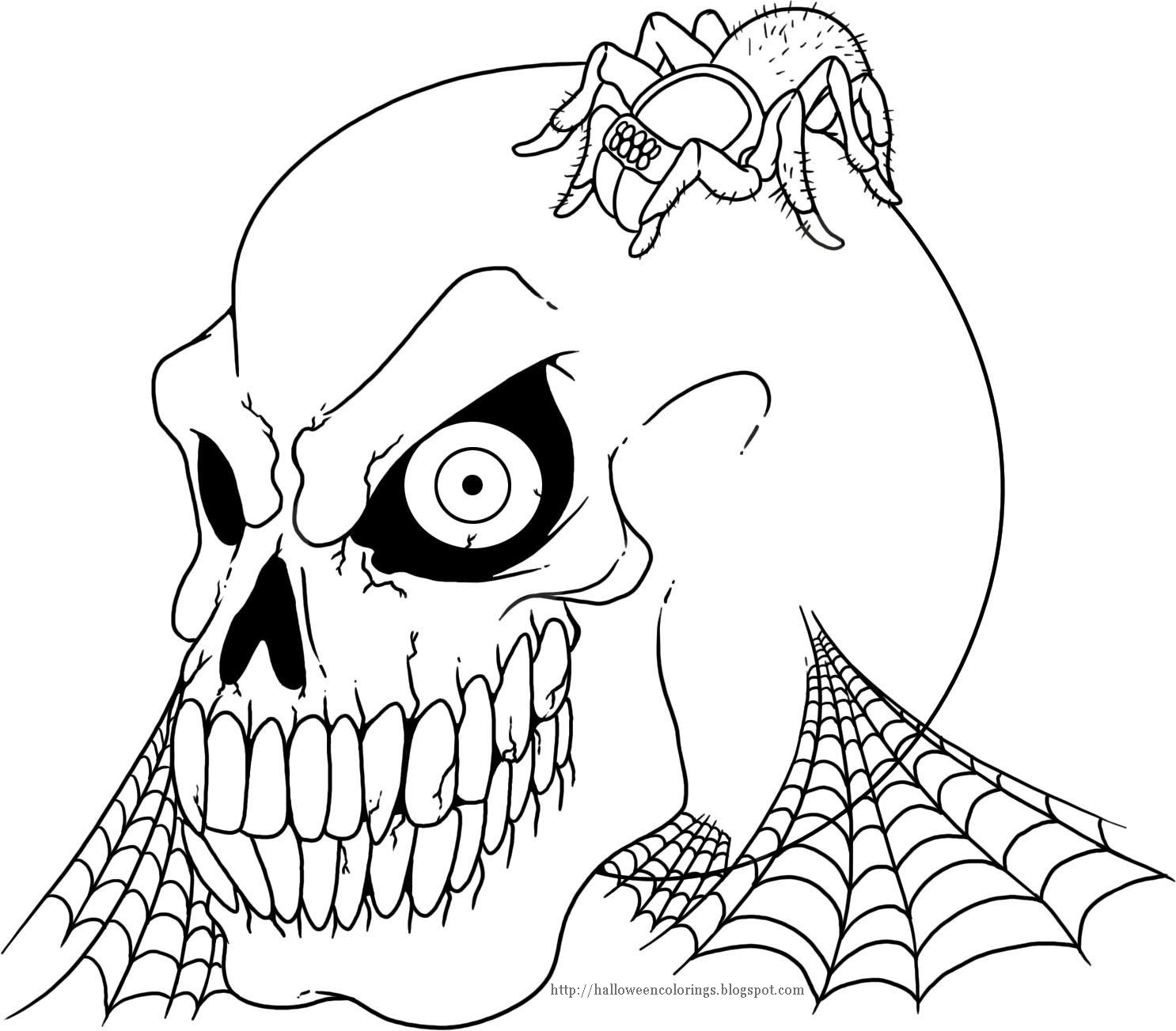 hallloween coloring pages - photo#33
