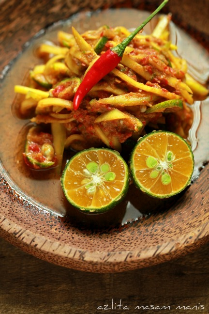 Sambal Mangga Muda : sambal, mangga, SAMBAL, BELACAN, MANGGA, Masam, Manis