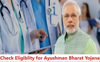 List To Find Eligibility For Ayushman Bharat PM Jan Aarogya Yojana (AB-PMJAY)