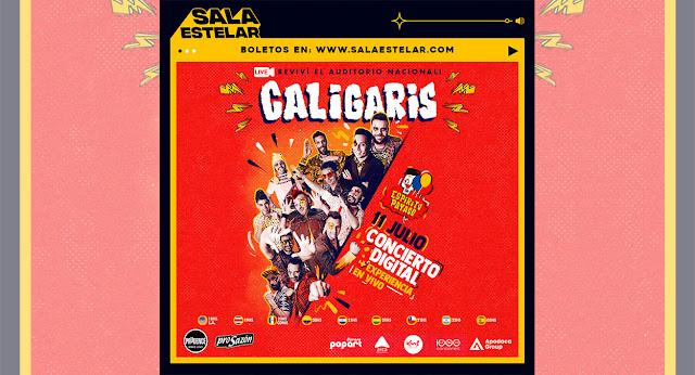 """Los Caligaris revivirán su show en el Auditorio Nacional a través de """"Sala Estelar"""""""