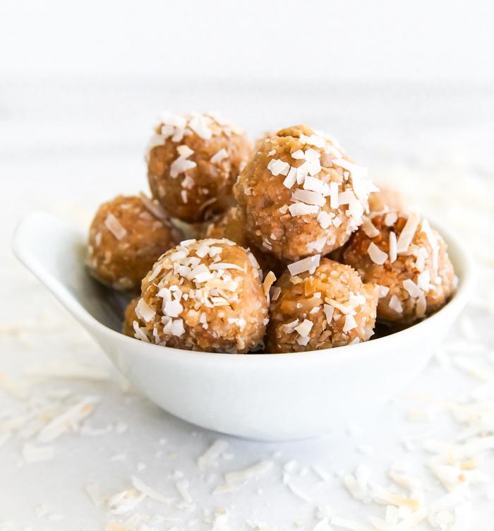 Coconut-Sunflower Seed Energy Balls